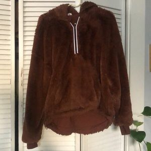 Free People off the record soft hoodie
